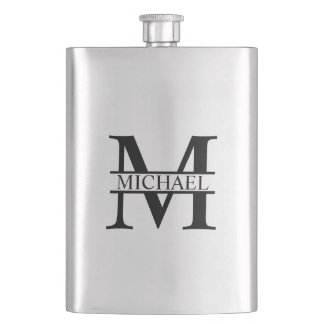 Personalized Monogram and Name Hip Flask
