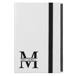 Personalized Monogram and Name iPad Mini Cover
