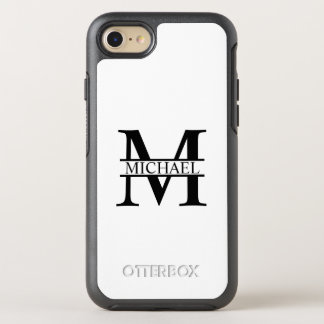 Personalized Monogram and Name OtterBox Symmetry iPhone 8/7 Case