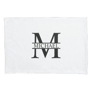 Personalized Monogram and Name Pillowcase