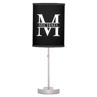 Personalized Monogram and Name Table Lamp
