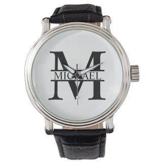 Personalized Monogram and Name Watches
