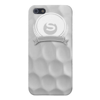 Personalized Monogram Golf Ball Iphone  5/5S Case iPhone 5 Covers