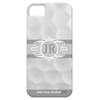 Personalized Monogram Golf Ball  iphone 5 Case