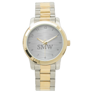 Personalized Monogram Men's Watch