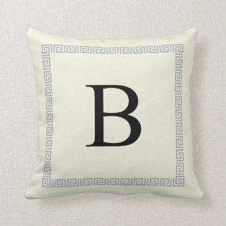Personalized Monogram Pillow | Initial B