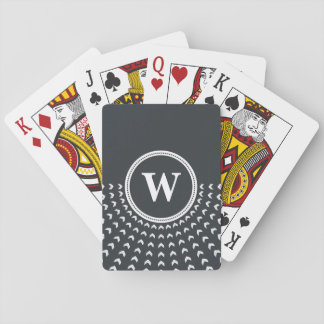 Personalized Monogram Playing Cards. Playing Cards