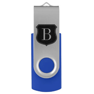 Personalized monogram swivel USB stick flask drive Swivel USB 2.0 Flash Drive