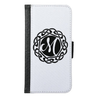 Personalized Monogrammed Galaxy S6 Wallet Case