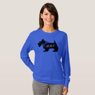 Personalized monogrammed Scotties shirt