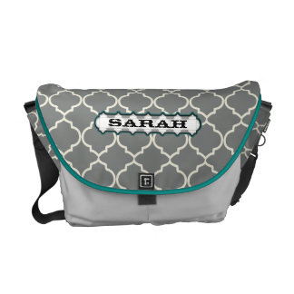 Personalized Moorish Pattern You Choose Colors Courier Bag