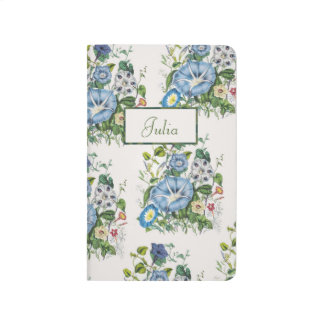 Personalized Morning Glories Journal