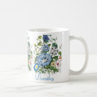 Personalized Morning Glories Mug