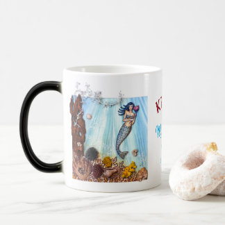 "Personalized Morphing Mug ""Mermaids are Real"""