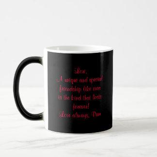 Personalized Morphing Mug-Rose Design Magic Mug