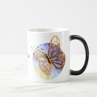 Personalized Morphing Mug with Butterflies