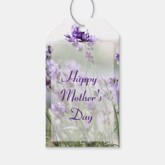 Personalized Mothers Day Gift Tags Lavender Pack Of Gift Tags