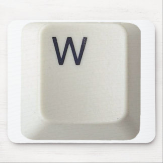 Personalized Mousepad, Computer Key_W Mouse Pad