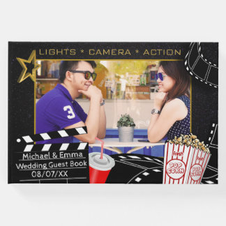 Personalized Movie Star Wedding Guest Book