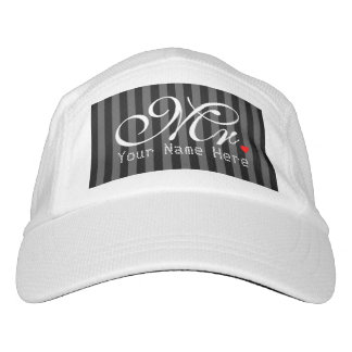 Personalized Mr. Husband Groom His Hers Newly Weds Hat