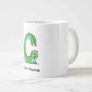 """Personalized mug with """"C"""" Monster Character"""