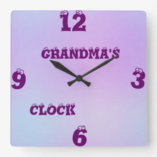 Personalized Multi Tone Clock