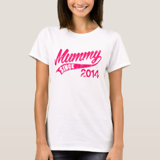 Personalized Mummy Since Year T-Shirt