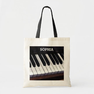 Personalized Music Tote Bag