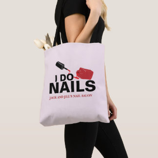 Personalized Nail Technician Tote Bag
