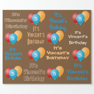Personalized Name & Age Birthday