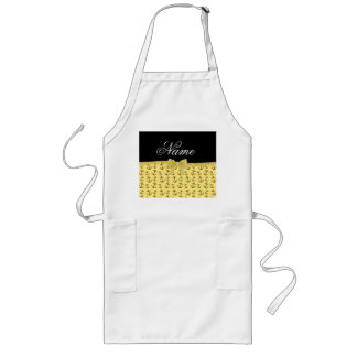 Personalized name aprons