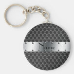 Personalized name black dragon scales