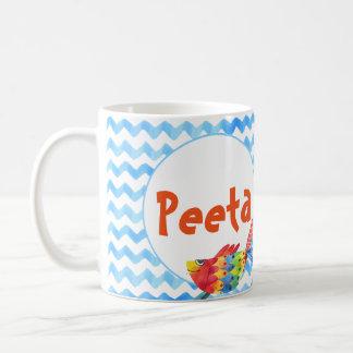 Personalized Name Coffee Mug Sea Watercolor Child