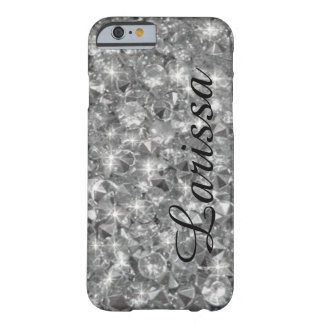 personalized_name crystals texture barely there iPhone 6 case