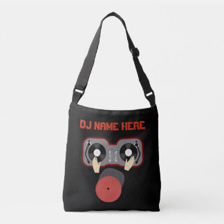 Personalized Name  DJ Tote Bag