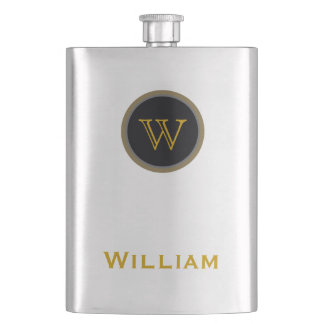 personalized name hip flask