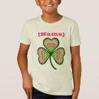 Personalized Name Shamrock T-Shirt