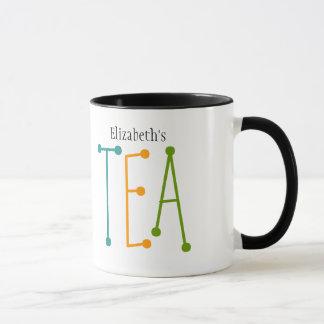 "Personalized Name ""TEA"" Mug"