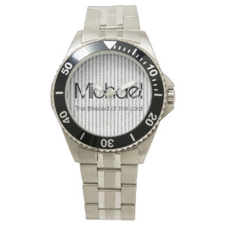 Personalized Name The Blessed of the Lord Watch