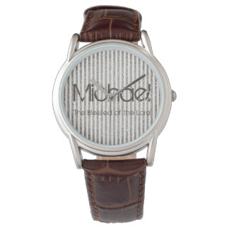 Personalized Name The Blessed of the Lord Watches