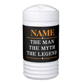 Personalized Name The Man The Myth The Legend Cooler