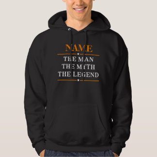 Personalized Name The Man The Myth The Legend Hoodie