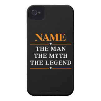 Personalized Name The Man The Myth The Legend iPhone 4 Case