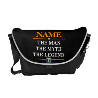 Personalized Name The Man The Myth The Legend Messenger Bag