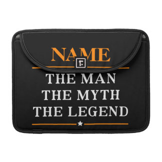 Personalized Name The Man The Myth The Legend Sleeve For MacBooks