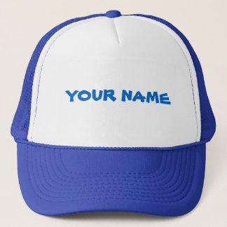 Personalized Name Trucker Hat
