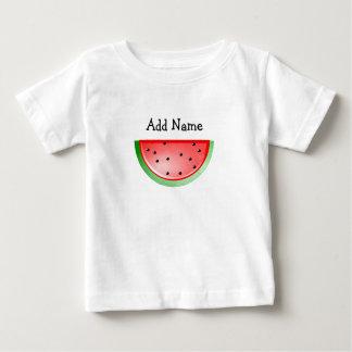 Personalized Name Watermelon Kid's Tshirt