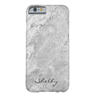 Personalized Named Grey Granite iPhone 6/6s Case
