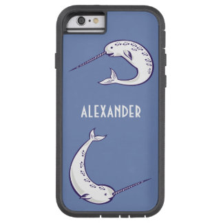 Personalized Narwhal Cell Phone Case