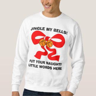 Personalized Naughty Christmas Sweatshirt